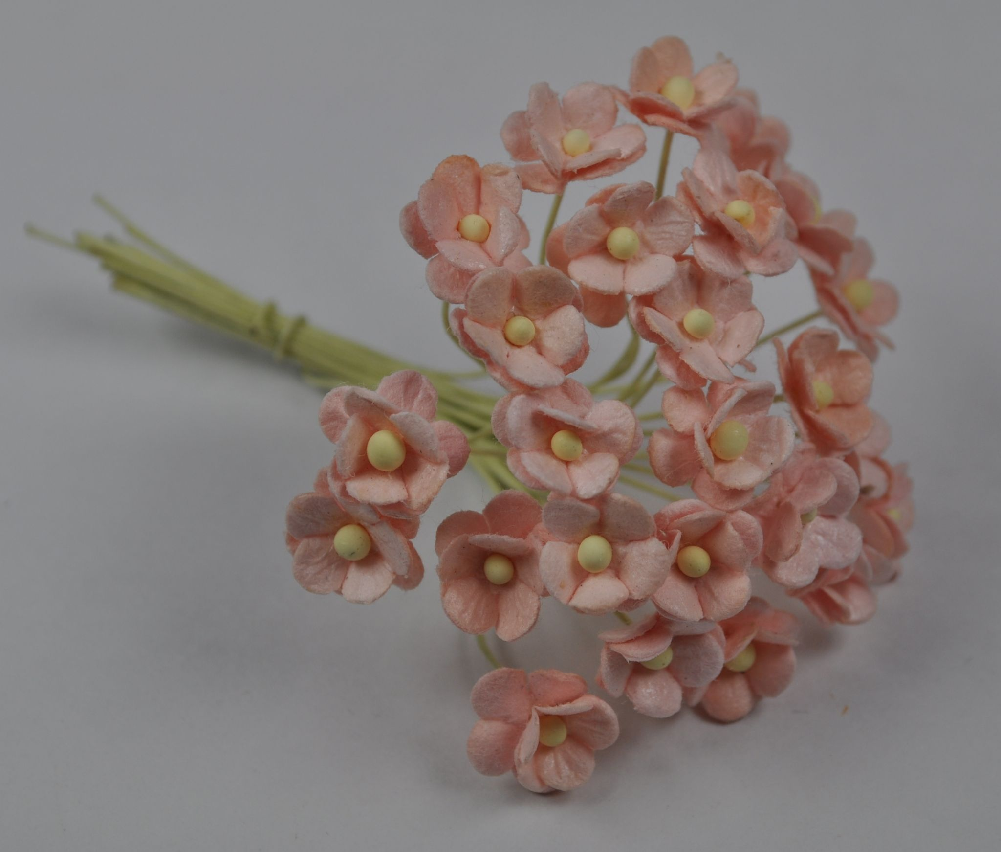 13cm pale pink double layered daisy mulberry paper flowers mightylinksfo